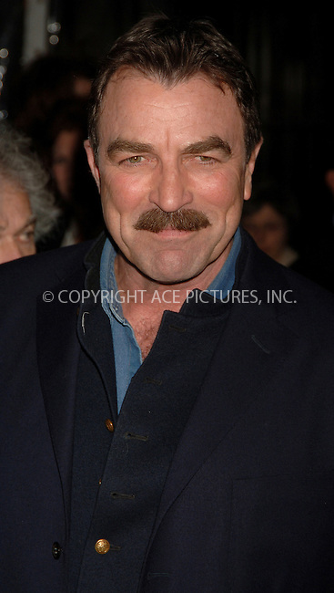"WWW.ACEPIXS.COM . . . . .  ....APRIL 25, 2006 - NEW YORK CITY....Tom Selleck at the world premiere of "" United 93"" at the Ziegfeld Theatre, as part of the 5th Annual Tribeca Film Festival.....Please byline: AJ Sokalner - ACEPIXS.COM.... *** ***..Ace Pictures, Inc:  ..(212) 243-8787 or (646) 769 0430..e-mail: picturedesk@acepixs.com..web: http://www.acepixs.com"