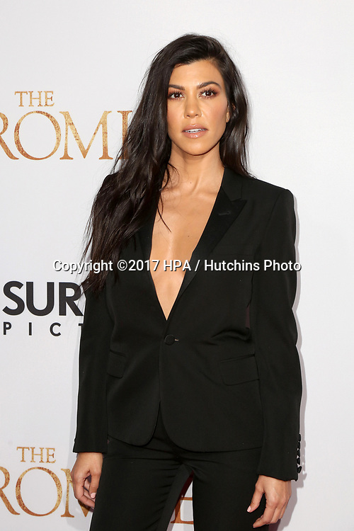 "LOS ANGELES - APR 12:  Kourtney Kardashian at the ""The Promise"" Premiere at the TCL Chinese Theater IMAX on April 12, 2017 in Los Angeles, CA"