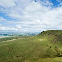 Fan Foel, Black Mountain, Brecon Beacons national park, Wales