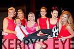 Pat O'Neill gets a lift up off of his fellow dancers at the Strictly Come Dancing in aid of the Irish Cancer Society in the INEC on Friday night l-r: Catriona White, Lorraine Kelly, Lisa Ragosa, Norita Cronin, Gemma Kavanagh and Grainne O'Sullivan