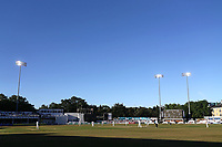 General view of play late in the day during Essex CCC vs Somerset CCC, Specsavers County Championship Division 1 Cricket at The Cloudfm County Ground on 26th June 2018
