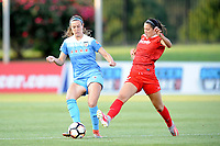 Boyds, MD -Saturday August 26, 2017: Kathleen Naughton, Arielle Ship during a regular season National Women's Soccer League (NWSL) match between the Washington Spirit and the Chicago Red Stars at Maureen Hendricks Field, Maryland SoccerPlex.