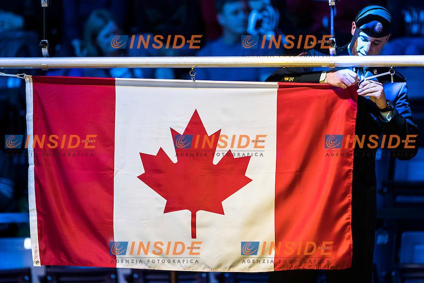 Flag Canada <br /> 13th Fina World Swimming Championships 25m <br /> Windsor  Dec. 10th, 2016 - Day05 Final<br /> WFCU Centre - Windsor Ontario Canada CAN <br /> 20161210 WFCU Centre - Windsor Ontario Canada CAN <br /> Photo &copy; Giorgio Scala/Deepbluemedia/Insidefoto