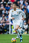 Cristiano Ronaldo of Real Madrid in action during the La Liga 2017-18 match between Real Madrid and Sevilla FC at Santiago Bernabeu Stadium on 09 December 2017 in Madrid, Spain. Photo by Diego Souto / Power Sport Images