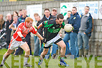 Churchill's Conor Daly and Brosna's Micheal Murphy.   Copyright Kerry's Eye 2008