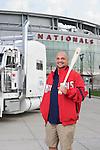 Title: Jomod McNally, Driver for Washington Nationals.Photographer: Aaron Clamage.Caption: Jomod McNally, Driver for Washington Nationals.