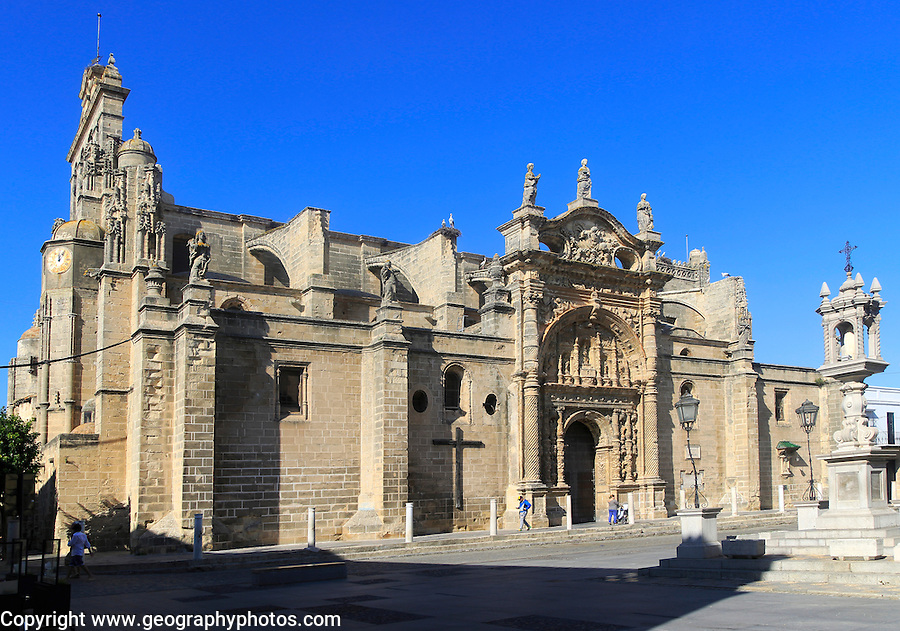 Historic church of Iglesia Mayor Prioral, Puerto de Santa Maria, Cadiz province, Spain