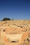Tel Aviv-Yafo, a Roman pottery kiln in Tel Qasile, 3rd-4th centuries AD