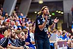 HINZE, Sebastian (Trainer Bergischer HC) \ beim Spiel in der Handball Bundesliga, TVB 1898 Stuttgart - Bergischer HC.<br /> <br /> Foto © PIX-Sportfotos *** Foto ist honorarpflichtig! *** Auf Anfrage in hoeherer Qualitaet/Aufloesung. Belegexemplar erbeten. Veroeffentlichung ausschliesslich fuer journalistisch-publizistische Zwecke. For editorial use only.