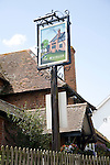 The Maybush pub sign, Waldringfield, Suffolk