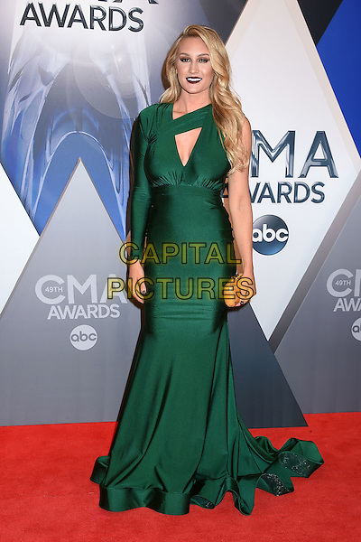4 November 2015 - Nashville, Tennessee - Brittany Kerr. 49th CMA Awards, Country Music's Biggest Night, held at Bridgestone Arena. <br /> CAP/ADM/LF<br /> &copy;LF/ADM/Capital Pictures