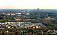 A bird's eye view on Charlotte, NC development.