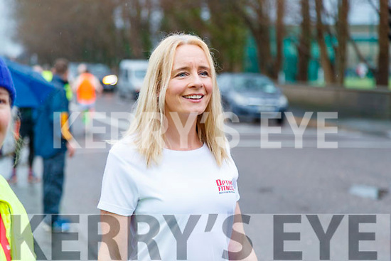 Race Director Michelle Greaney pictured at the Optimal Fitness 10 miler and 5k road race