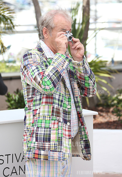 Bill Murray at the 'Moonrise Kingdom' photocall - during the 65th Cannes Film Festival.Cannes, France. 16/05/2012 Picture by: Henry Harris / Featureflash