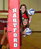 UHart Volleyball Photo Day 8/13/2015