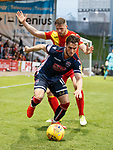 04.05.2018 Partick Thistle v Ross County: Alex Schalk and Danny Devine
