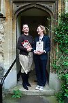 Judith Flanders (L) and Kate Colquhoun at Christ Church during the Sunday Times Oxford Literary Festival, UK, 2-10 April 2011. <br />
