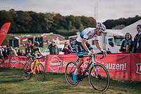 race winner Mathieu van der Poel (NED/Corendon-Circus)<br /> <br /> Elite Men's race<br /> GP Mario De Clercq / Hotond cross 2018 (Ronse, BEL)