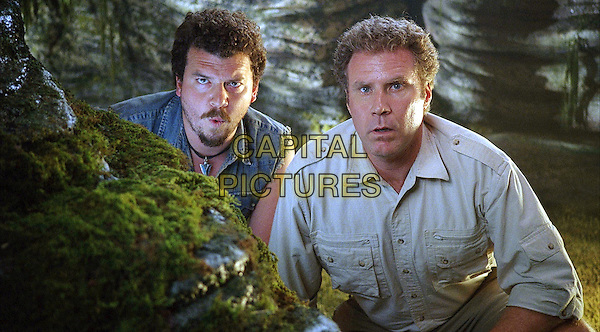 DANNY MCBRIDE, WILL FERRELL <br /> in Land of the Lost (2009) <br /> *Filmstill - Editorial Use Only*<br /> CAP/NFS<br /> Image supplied by Capital Pictures