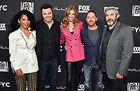 "LOS ANGELES - APRIL 24: Penny Johnson, Seth MacFarlane, Adrianne Palicki, Scott Grimes and Jon Cassar attend a red carpet FYC event and panel for FOX's ""The Orville"" at the Pickford Center for Motion Picture Study Linwood Dunn Theater on April 24, 2019 in Los Angeles, California. (Photo by Vince Bucci/Fox/PictureGroup)"