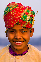 Young camel driver, Yamuna River, Agra, Uttar Pradesh, India