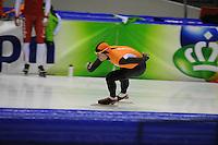 SCHAATSEN: HEERENVEEN: 31-01-2014,  IJsstadion Thialf, Training Topsport, Stefan Groothuis, ©foto Martin de Jong