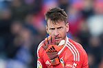 Goalkeeper Norberto Murara Neto of Valencia CF is talking to his team during the La Liga 2017-18 match between Getafe CF and Valencia CF at Coliseum Alfonso Perez on December 3 2017 in Getafe, Spain. Photo by Diego Gonzalez / Power Sport Images