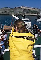 Europe/France/Bretagne/56/Morbihan/Belle-Ile/ Le Palais: Sur le bateau pour le continent