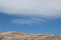 Clouds on Mt. Bierstadt