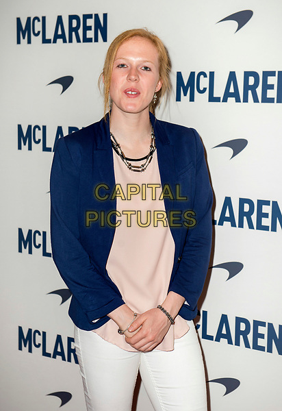 LONDON, ENGLAND - MAY 22: Alice Powell attends the UK screening of 'McLaren' at Ham Yard Hotel on May 22, 2017 in London, England. <br /> CAP/PP/GM<br /> &copy;GM/PP/Capital Pictures