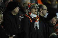 Blackpool fans enjoy the pre-match atmosphere <br /> <br /> Photographer Kevin Barnes/CameraSport<br /> <br /> Emirates FA Cup Third Round Replay - Blackpool v Reading - Tuesday 14th January 2020 - Bloomfield Road - Blackpool<br />  <br /> World Copyright © 2020 CameraSport. All rights reserved. 43 Linden Ave. Countesthorpe. Leicester. England. LE8 5PG - Tel: +44 (0) 116 277 4147 - admin@camerasport.com - www.camerasport.com