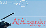 AJ ALEXANDER Photographer 12/19/2007  -  Some Unidetified Flying Object that looks like a Metalic Orb flying above TV 10 from Phonenix, AZ.  I did not even notice the Metalic Orb when I took the Photo until years later some time in 2010.<br /> Photo by AJ ALEXANDER(c)<br /> Author/Owner AJ Alexander