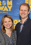 Irene Sankoff and David Hein attends the press day for Broadway's 'Come From Away' at Manhattan Movement and Arts Center on February 7, 2017 in New York City.