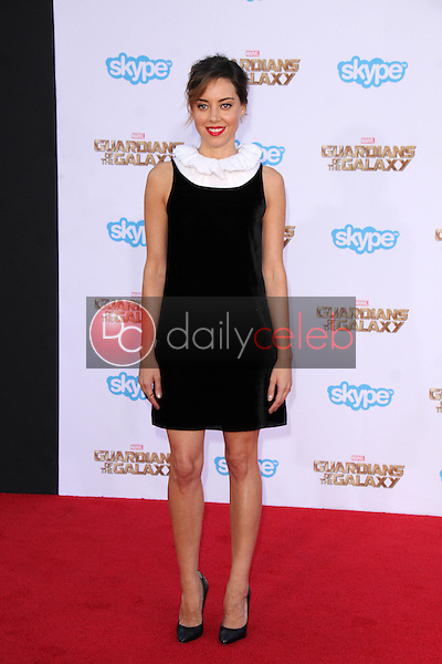 """Aubrey Plaza<br /> at the """"Guardians Of The Galaxy"""" Premiere, Dolby Theater, Hollywood, CA 07-21-14<br /> David Edwards/Dailyceleb.com 818-249-4998"""