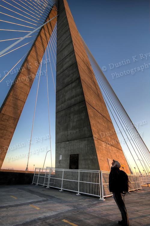 Arthur Ravenel Jr Bridge Charleston South Carolina over the cooper river