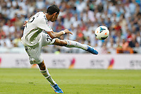 MADRI, ESPANHA, 22.09.2013 - CAMP. ESPANHOL - REAL MADRID X GETAFE - Angel Di Maria do Real Madrid durante partida contra o Getafe pela quinta rodada do Campeonato Espanhol, neste domingo, 22. (Foto: Cesar Cebolla / Brazil Photo Press).