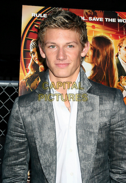 "ALEX PETTYFER .The Weinstein Company premiere of ""Alex Rider: Operation Stormbreaker"" on the Intrepid Space and Air Museum, New York, NY, USA..October 4th, 2006.Ref: IW.headshot portrait grey gray.www.capitalpictures.com.sales@capitalpictures.com.©Ian Wilson/Capital Pictures"