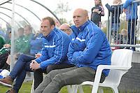 VOETBAL: JOURE: 30-04-2016, SC Joure - VV Mulier, uitslag 2-1, trainer Klaas de Jong, ass. Luut de Zee, ©foto Martin de Jong