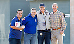 OCT 28: Elliott Walden and crew at Santa Anita Park in Arcadia, California on Oct 28, 2019. Evers/Eclipse Sportswire/Breeders' Cup