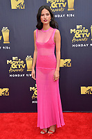Kelsey Asbille at the 2018 MTV Movie &amp; TV Awards at the Barker Hanger, Santa Monica, USA 16 June 2018<br /> Picture: Paul Smith/Featureflash/SilverHub 0208 004 5359 sales@silverhubmedia.com