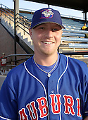 August 16, 2004:  Pitcher David Purcey of the Auburn Doubledays, Short-Season Single-A affiliate of the Toronto Blue Jays, during a game at Russell Diethrick Park in Jamestown, NY.  Photo by:  Mike Janes/Four Seam Images