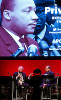 Taylor Branch speaks during a event to commemorate Martin Luther King's day at the Apollo Theater in New York. 17.01.2016. Kena Betancur/VIEWpress.