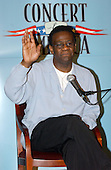 """Al Green, Gospel Singer, speaks at a press availability as he rehearsed for the """"Concert for America"""" at the John F. Kennedy Center in Washington, DC on September 9, 2002..Credit: Ron Sachs / CNP..(RESTRICTION: NO New York or New Jersey Newspapers or newspapers within a 75 mile radius of New York City)"""