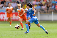 Houston, TX - Saturday April 15, 2017: Jennifer Hoy during a regular season National Women's Soccer League (NWSL) match between the Houston Dash and the Chicago Red Stars at BBVA Compass Stadium.