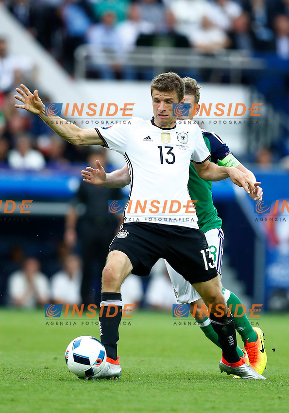 Thomas Muller Germany<br /> Paris 21-06-2016 Parc des Princes Footballl Euro2016 Northern Ireland - Germany  / Irlanda del Nord - Germania Group Stage Group C. Foto Matteo Ciambelli / Insidefoto