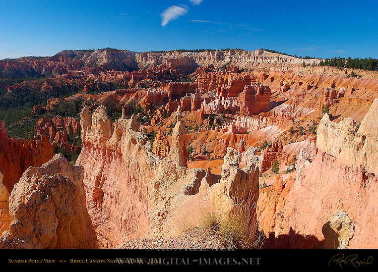 Sunrise Point View, Bryce Canyon National Park, Utah