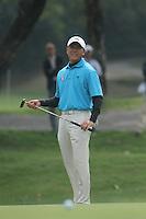 Zhang Lian-wei (CHN) on the 3rd during Round 2 of the UBS Hong Kong Open 2012, Hong Kong Golf Club, Fanling, Hong Kong. 16/11/12...(Photo Jenny Matthews/www.golffile.ie)