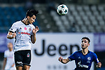 Besiktas Istambul Midfielder Necip Uysal (L) heads the ball during the Friendly Football Matches Summer 2017 between FC Schalke 04 Vs Besiktas Istanbul at Zhuhai Sport Center Stadium on July 19, 2017 in Zhuhai, China. Photo by Marcio Rodrigo Machado / Power Sport Images