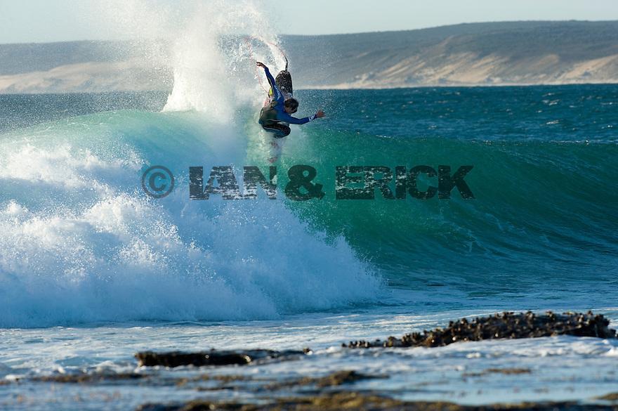 Ry Craike (AUS) at Jake Pt in Kalbarri, Western Australia.