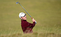 Danny Willett of England hits an approach during Round 3 of the 2015 Alfred Dunhill Links Championship at the Old Course, St Andrews, in Fife, Scotland on 3/10/15.<br /> Picture: Richard Martin-Roberts | Golffile